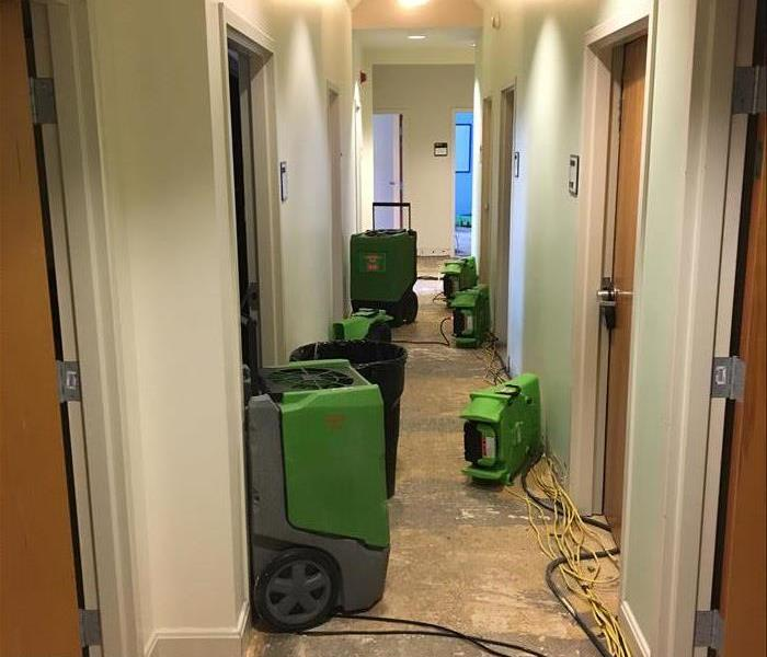 Water damage at local dorm  Before