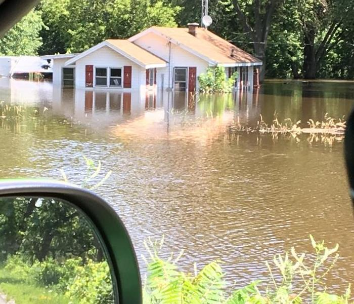 Flooding in southern Wisconsin
