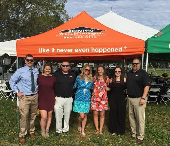 Our SERVPRO team hosts a Keeneland tailgate!